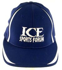 Ice Sports Forum Tampa Bay FL Sm-Med Fitted Cap Hat Practice Rink Lightning