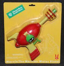 Looney Tunes Warner Bros 1999 Marvin the Martian Water Pistol Ray Gun MOC