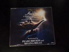 CD SINGLE - PEABO BRYSON / REGINA BELLE - A WHOLE NEW WORLD