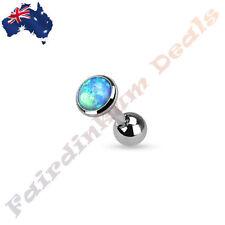 Ear Opal Bar/Barbell Body Piercing Jewellery