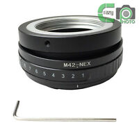 M42-NEX Adapter Tilt for M42 Lens to Sony E NEX 3 NEX 5 NEX 6 NEX 7 VG10