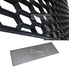 "5_Black Honeycomb Hexagon Mesh ABS Grille Fog Custom DIY Kit 43""x15"" for PORSCHE"