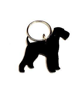 Airedale Terrier Hund Schlüsselanhänger Schlüsselbund Tasche Charm Geschenk Mit