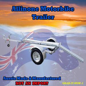 Motorbike trailer (Allinone)