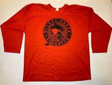 Penguins Practice Jersey Wilkes-Barre/Scranton Minor League Hockey 47 L Red SP