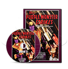 The Purple Monster Strikes (1945) Republic Movie Serial Cliffhanger (2 x DVD)