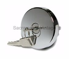 CHROME FORD CAR 1949 1950 1951 LOCKING GAS CAP CHROME