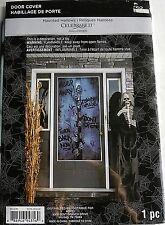 HALLOWEEN DOOR COVER Scary Sayings