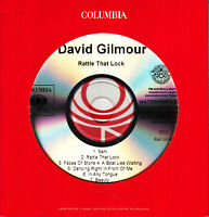 DAVID GILMOUR Rattle That Lock 2015 US 10-track promo CD NUMBERED #003