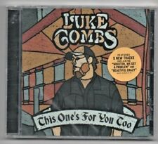Luke Combs This One's For You Too 2018 Deluxe Edition CD Beautiful Crazy