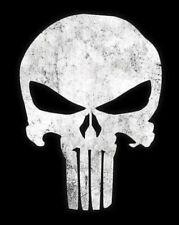 El logotipo Punisher Cosplay-Back Lona De Parche + 2 Bolsillo más pequeño/logotipos de brazo.
