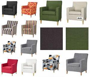 IKEA KARLSTAD Chair SLIPCOVER Small Armchair Cover SIVIK Dillne BLEKINGE Eninge