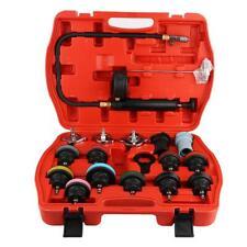 18pcs Universal Car Water Tank Leak Tester Cooling System Detector Tool Kit