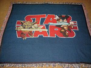 Walt Disney World Resort ~ Star Wars Tapestry Afghan Throw