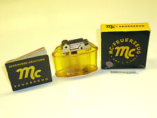 MC SEMI-AUTOMATIC PETROL LIGHTER - F.C.MOERS KG - D.B.P. - A.-PAT. - OVP - 1954