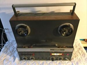 Vintage Revox Reel To Reel Tape Recorder Player Model A77 Made In Germany Works