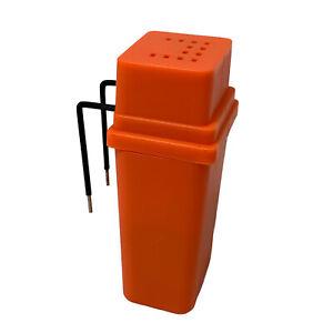 Liquid Level Indicator for the Low Vision or Blind - Orange, Loud Alert Sound