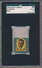 1953 Alfredo Di Stefano Platin y Dermin SGC 30 = PSA 2 Rare Soccer Card Rookie