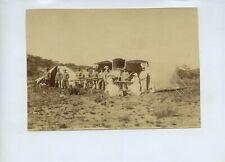 12 Photos Boer War - c1900 - German Troops ? Field Ambulance Namibia