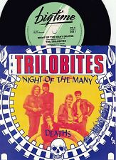 Trilobites ORIG OZ PS 45 Night of the many deaths VG+ '87 Sons Of Radio Birdman