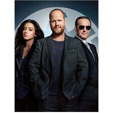 Agents of S.H.I.E.L.D. Clark Gregg, Joss Whedon, Chloe Bennet 8 x 10 Inch Photo