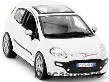 BbURAGO 1:24 FIAT PUNTO EVO NEW DIECAST MODEL CAR WHITE