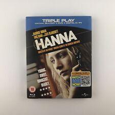 Hanna (Blu-ray and DVD Combo, 2011, 2-Disc Set) s