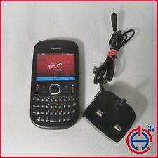 Nokia Asha 201 - Graphite (Virgin Mobile) Mobile Phone