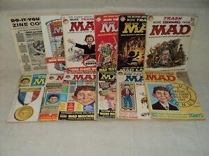 More Trash From Mad 1-12 COMPLETE MAGAZINE SET Low-Grade EC Comics (m 651)