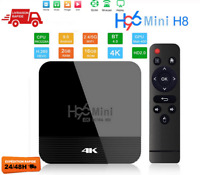 H96 Mini Android 9.0 Smart TV BOX Assistant récepteur 4K WiFi 2GB 16GB EU