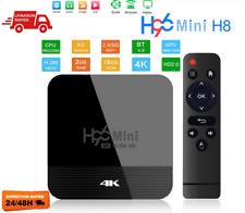 H96 Mini Android 9.0 Smart TV BOX Assistant récepteur 4K WiFi 2GB 16GB EU
