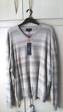 Mens Jumper 3XL Cotton 100% M&S X XXL *BNWT* V Neck Marks & Spencer *LOW POST*