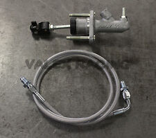 8th Gen Civic EM1 Clutch Master Cylinder Upgrade CMC Silver Clutch Line Hybrid