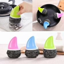 Kitchen Wash Tool Pot Pan Dish Bowl Clean Brush Scrubber Cleaner Novel Gadget a1