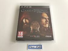 Game Of Thrones - Sony PlayStation PS3 - FR - Neuf Sous Blister