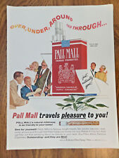 1964  Pall Mall Cigarette Ad A Sing Along Guitar Player