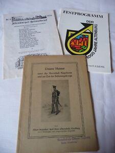 Altenburg Festprogram Heimatbrief Geschichtsheft