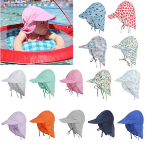 Sun Hat Baby Boys Girls Kids Summer Beach Hat Legionnaire Cap S/L