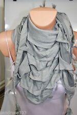 Abbigliamento e accessori vintage grigio in poliestere
