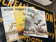 3 NOS Outdoor Nebraska 1957 Hunting Fishing Sport Magazine