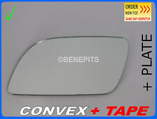 VW POLO 2001-2004 Wing Mirror Glass  CONVEX HEATED + PLATE Left Side /1030 125