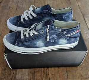 Diesel Magnete Exposure Low Denim Shoes Sneakers (6.5 AU) (7.5 US) (40.5 EU) NEW