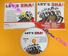 CD LET'S SKA compilation 2002 TUTTO 4 MEGANOIDI PUNKREAS no lp mc vhs dvd (C35)