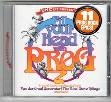 (GQ367) Fill Your Head With Prog, 11 tracks various arti- 2007 - Sealed Uncut CD
