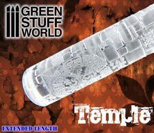 Rodillo Texturizado TEMPLO - para peanas texturizadas Warhammer, Infinity,...