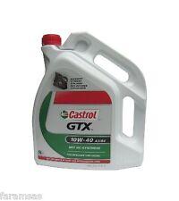 Lubrificante 10W-40 A3/B4 CASTROL GTX 5L