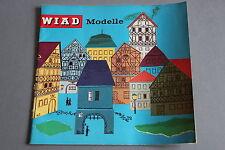 X483 WIAD Train catalogue maquetteHo 1965 38 pages 21*20 cm Deutsch Katalog