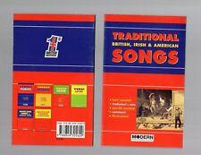 traditional british,irish & american songs - modern publishing house - new