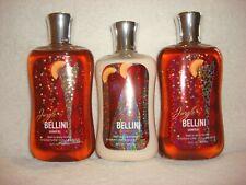 Bath & Body Works Jingle Bellini Set of 3 Items 2 Shower Gels & 1 Body Lotion