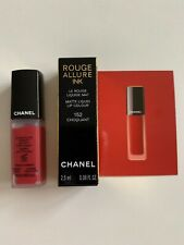 Chanel Rouge Allure Ink Matte Liquid Lip Colour 152 Choquant 2.5ml Luxury sample